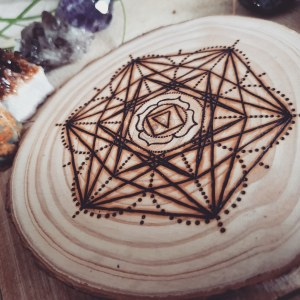 The Root Chakra Crystal Grid