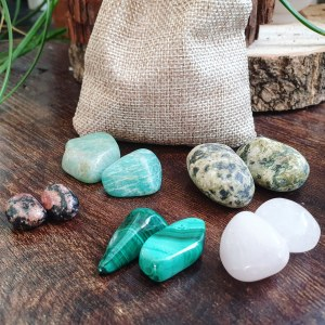 Love and Gratitude crystal set
