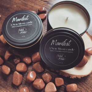 Manifest : A New Moon Candle