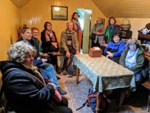 Inside a blackhouse at Gearrannan