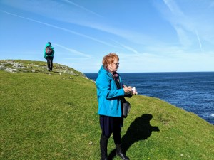Sketching at Butt of Lewis, Lewis & Harris, Outer Hebrides