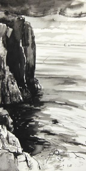 Leo du Feu, Altarstanes to Bass Rock, Isle of May
