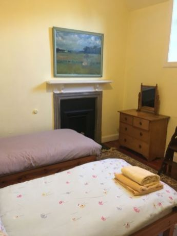 bedroom at hospitalfield 2