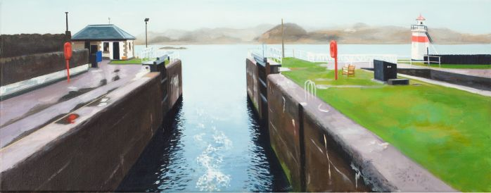 Rainy Morning-Crinan Sealock