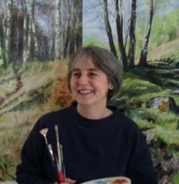 Artist Katherine Cowtan
