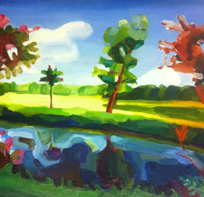 Endrick Tree Reflection