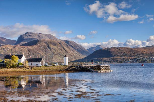 Corpach & Ben Nevis, Scottish Highlands