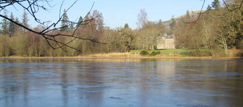 Culcreuch Castle from loch