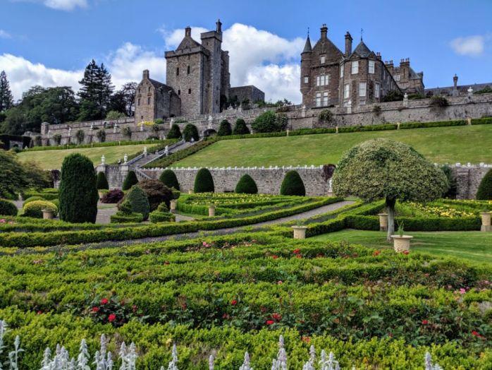 Drummond Castle Gardens4