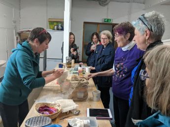 Herbalist workshop with Anna Canning