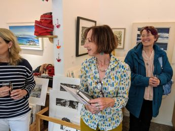 Introduction at the Line Gallery in Linlithgow4