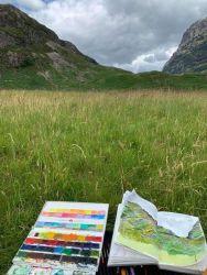 Painting in Glencoe