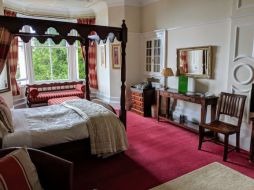 Bedroom at Abbots Brae hotel
