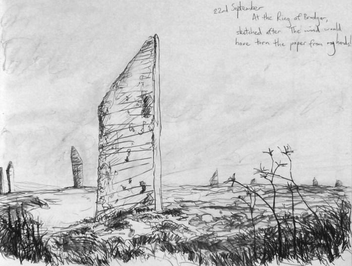 Leo du Feu, Orkney sketchbook, Sept 2009 (8)