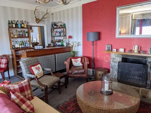 Bar at Loch Melfort Hotel