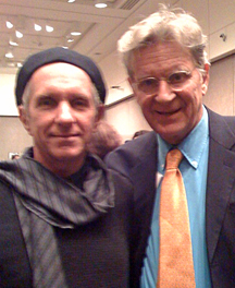 Charles Wildbank and Tibet House Co-Founder/Author Robert Thurman