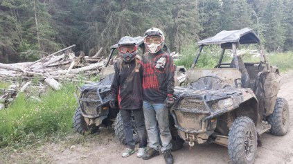 Some of our family members are just as crazy about mudding as us!!!
