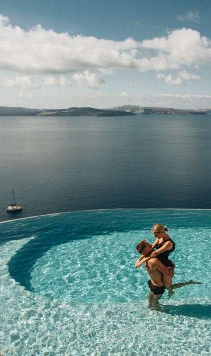 Hotels with infinity pools