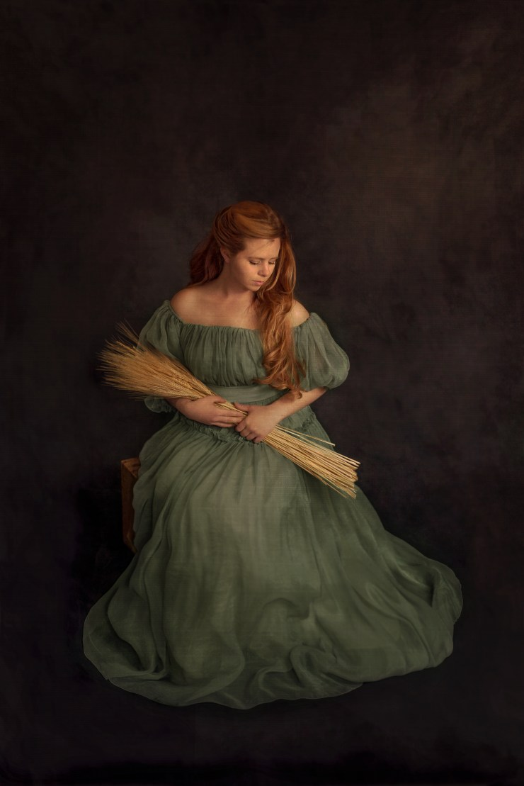 Fine Art museum quality painterly portraits created in the Wild Beauty Photo Portrait studio