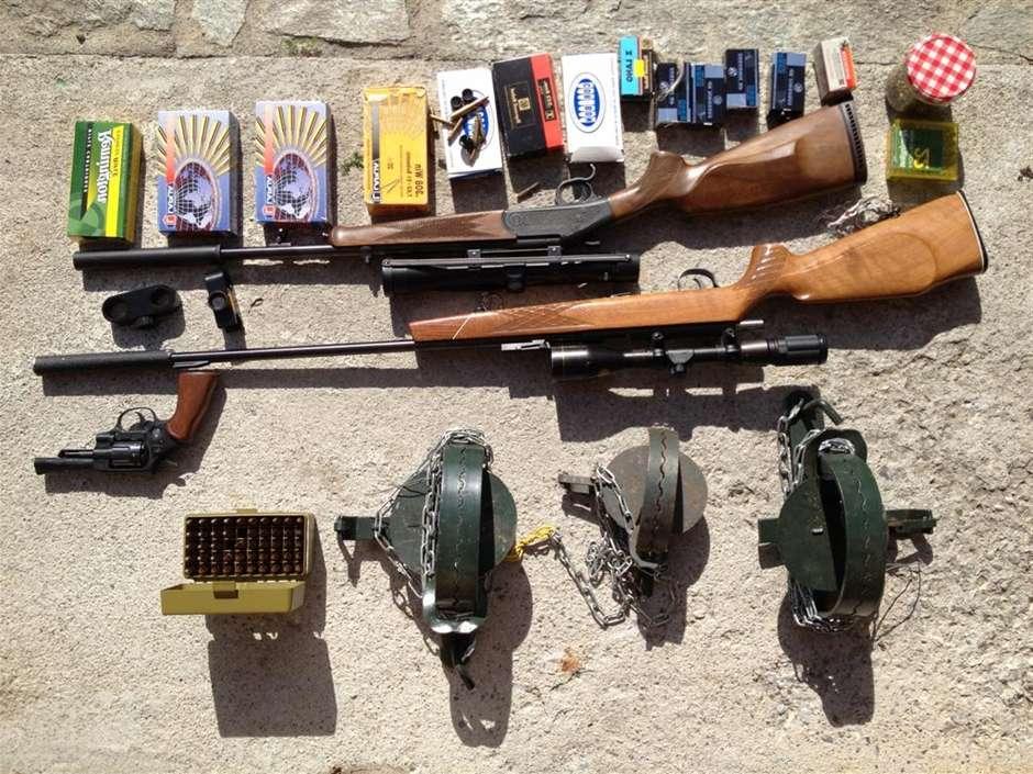 Walliser-Wilderer-Waffen
