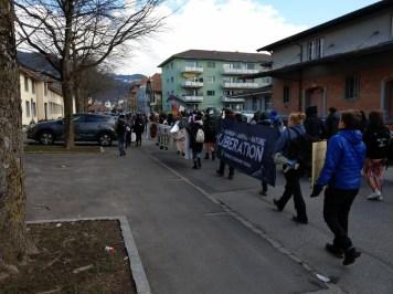 Anti Pelz und Jagd Demo Thun