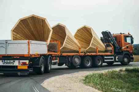 Holz Megafon