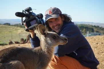 Director and DOP Mick McIntyre -®Hopping Pictures