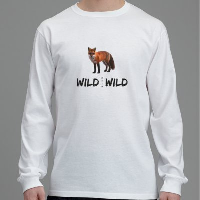Langärmliges Fuchs T-Shirt