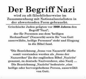 Begriff Nazi