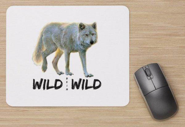 Wild beim Wild Wolf Mousepad