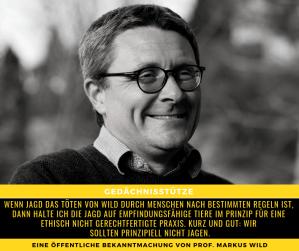 Prof. Markus Wild
