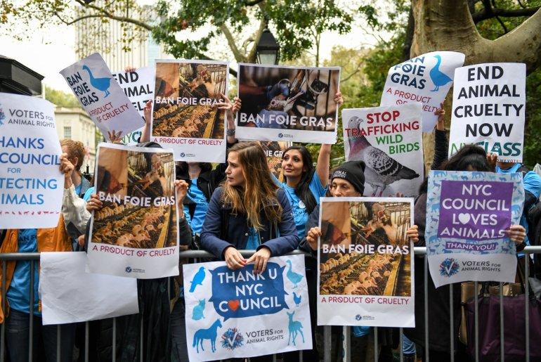 New York verbietet Foie Gras