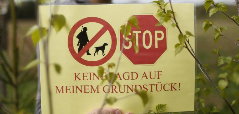 Jagdfreie Zone Jetzt auch im Münsterland