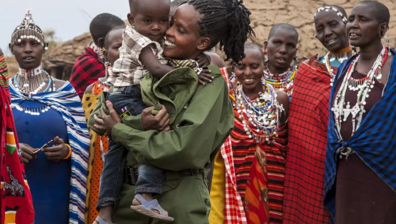 World Ranger Day Massai-Rangerinnen kehren zu ihren Familien zurück