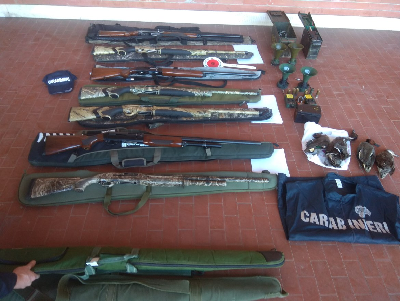 CABS delta del po seized shotguns