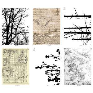 Natural Elements Mixed Media Paper Stash