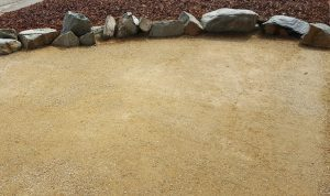 how to build a decomposed granite patio
