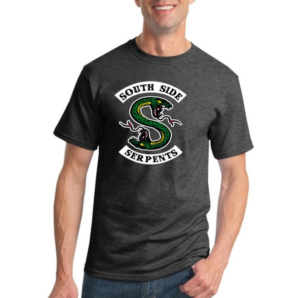 Southside Serpents Riverdale Mens T-shirt Graphic Tv Tee