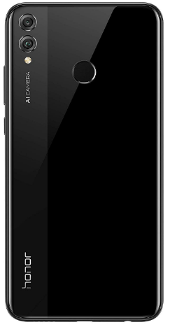 front view Honor 8x. Top-rated Budget Phone, latest Huawei smartphones