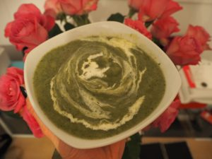 Healthy Supergreen Soup recipe