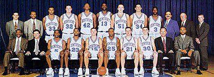 1996-1997 Kentucky Basketball Roster