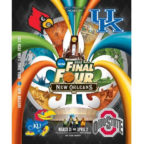 2012 Final Four Program