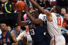 Aaron Harrison and Julius Randle - photo by Sean Meagher | OregonLive.com