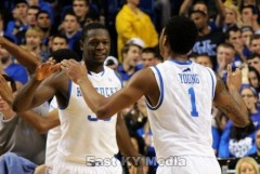 Julius Randle and James Young - photo by Tim Hamblin | East KY Media