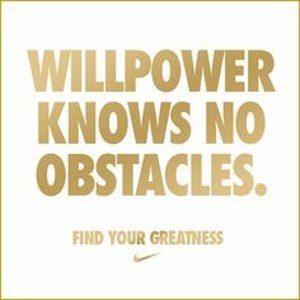 will power knows no obstacles nike quotes