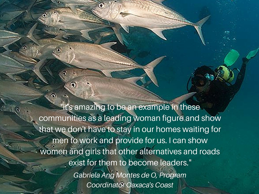 It's amazing to be an example in these communities as a leading woman figure and show that we don't have to stay in our homes waiting for men to work and provide for us. I can show women and girls that other alternatives and roads exist (2).jpg