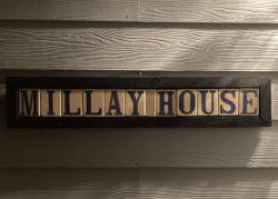 Millay House: Name Sign