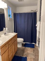 Millay House: Master Bathroom