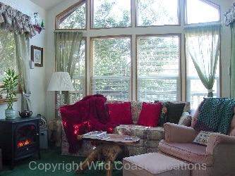 Butterflyland Cabin Living room