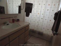 Sea Shadows bathroom sink